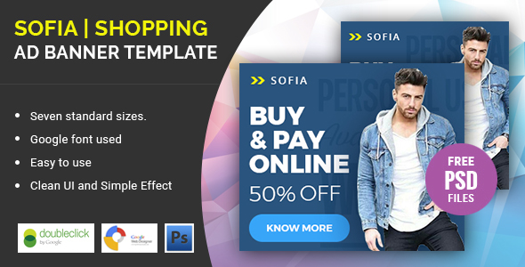 Sofia Shopping | HTML 5 Animated Google Banner - CodeCanyon Item for Sale