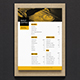 Simple Coffee Shop Menu 02 - GraphicRiver Item for Sale