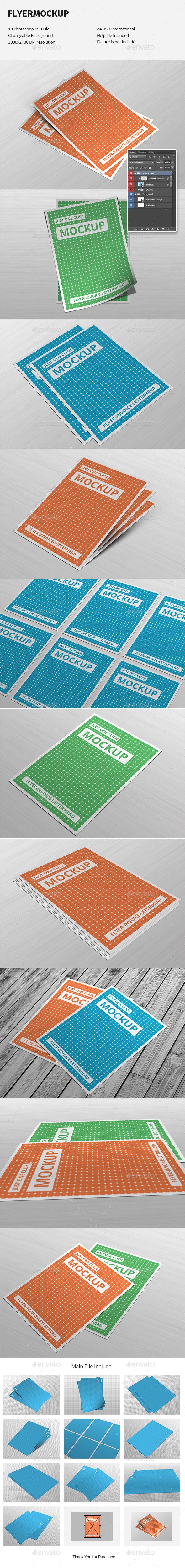 Flyer Mockup - Flyers Print