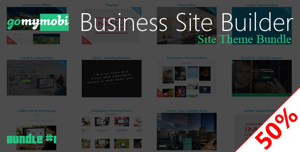gomymobiBSB's Site Theme: Bundle #1 - CodeCanyon Item for Sale