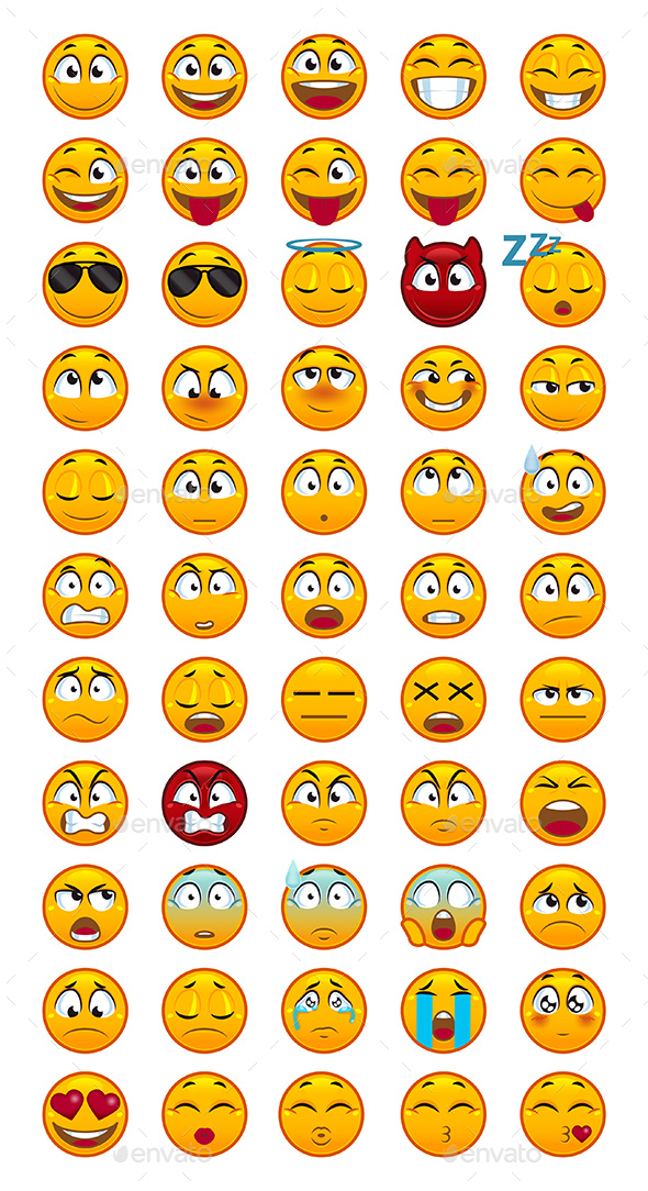 55 Emojis - Miscellaneous Characters