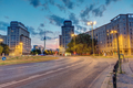 The Strausberger Platz in Berlin after sunset - PhotoDune Item for Sale