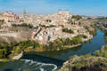 Toledo and the river Tagus in Spain - PhotoDune Item for Sale