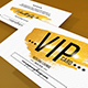 Multipurpose Casual Vip Card - GraphicRiver Item for Sale