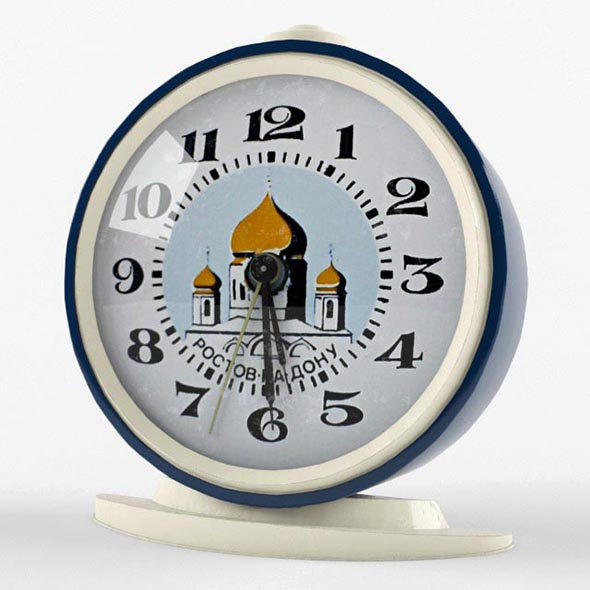 Alarm clock - 3DOcean Item for Sale