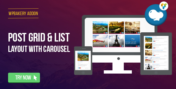WordPress Post Grid/List Layout With Carousel - 9