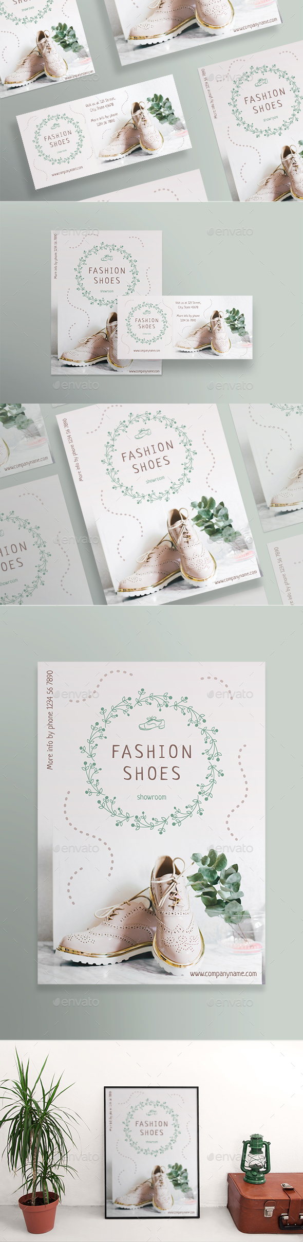Fashion Shoes Flyers - Miscellaneous Events