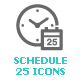 Time & Schedule Mini Icon - GraphicRiver Item for Sale
