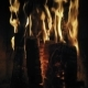 Fireplace Burning Cozy Warm Burning Fire in a Brick Fireplace - VideoHive Item for Sale