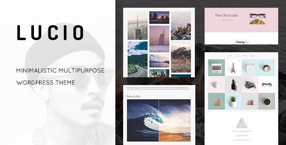 Lucio - Clean and Minimal Portfolio and Agency WordPress Theme - Portfolio Creative