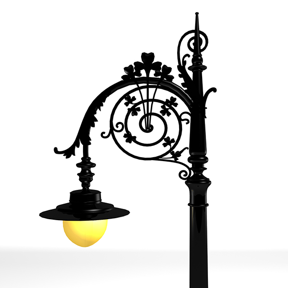 Street Light 3D Model - 3DOcean Item for Sale