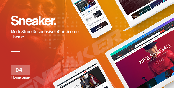 Image of Sneaker - Shoes Responsive OpenCart Theme (Included Color Swatches)