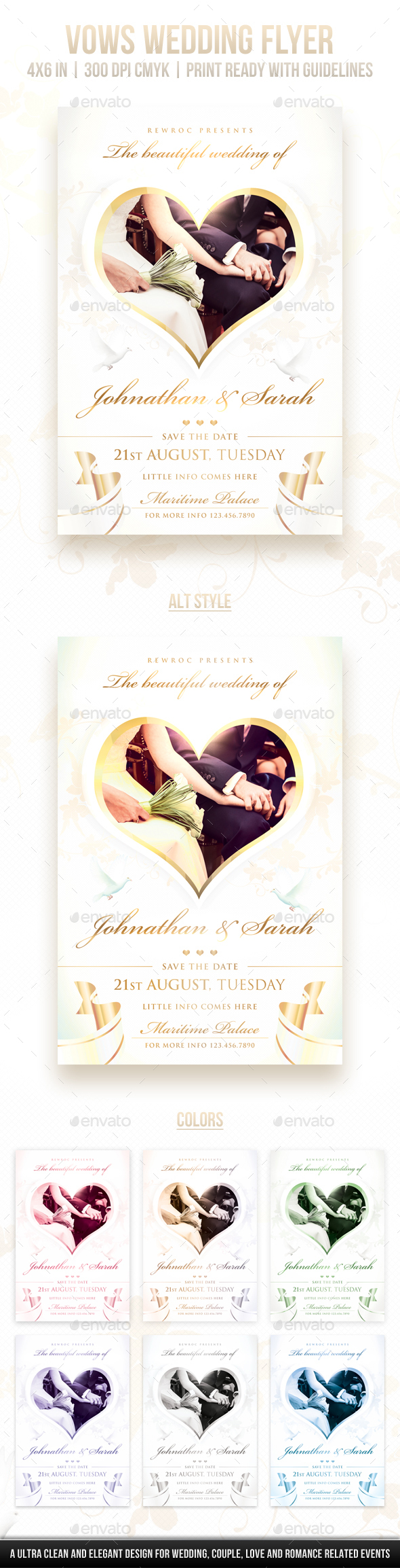 Vows Wedding Flyer - Miscellaneous Events
