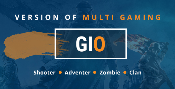 Image of GIO-Community Portal Gaming Template