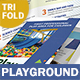 Kids' Playground Trifold Brochure - GraphicRiver Item for Sale