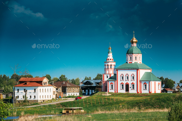 Church Of Elijah Prophet - Elias Church - Church In Suzdal, Russ - Stock Photo - Images