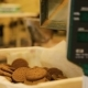 Oatmeal Cookies Move Along the Conveyor Belt. - VideoHive Item for Sale