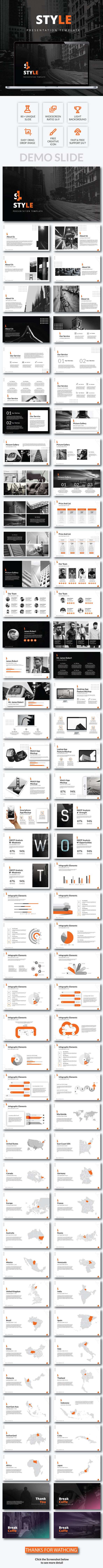 Style - Google Slide Template - Google Slides Presentation Templates