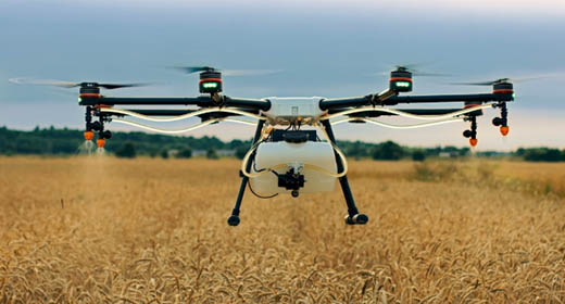 Flying Agriculture Drone