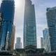 Skyscrapers in Jumeirah Lake Towers, Dubai, UAE - VideoHive Item for Sale