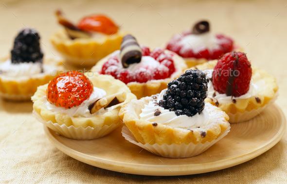 Mini Dessert - Stock Photo - Images