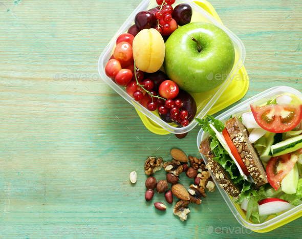 Lunch Box  - Stock Photo - Images