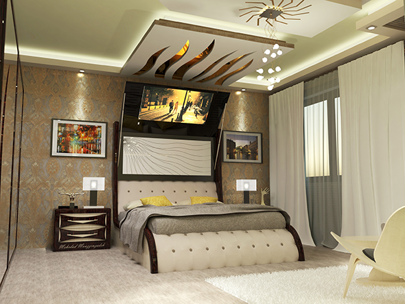 Creative Bedroom - 3DOcean Item for Sale