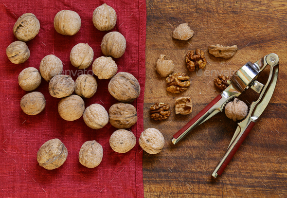 Organic Walnuts - Stock Photo - Images