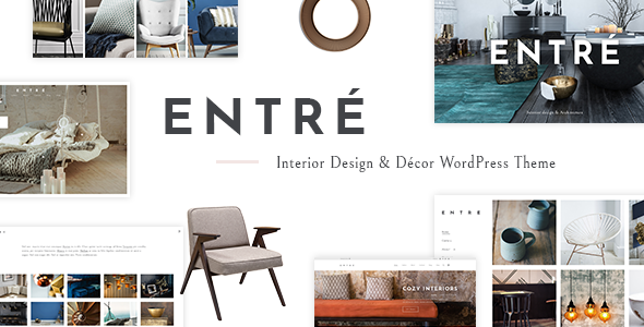 Image of Entré - An Elegant Interior Design and Décor WordPress Theme