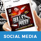 Hip Hop Music Social Media Template