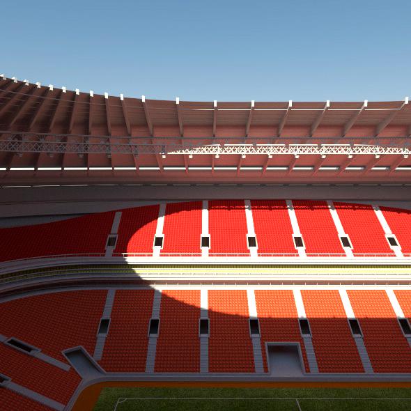 Luzhniki Stadium Moscow - 3DOcean Item for Sale