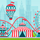 Amusement Park. - GraphicRiver Item for Sale