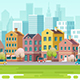 Urban Landscape Background. - GraphicRiver Item for Sale