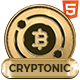 Cryptonic - Cryptocurrency HTML Template