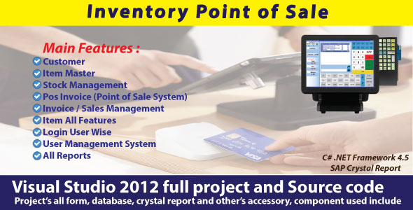 Full Sales And Inventory Management | POS System with Source Code - CodeCanyon Item for Sale