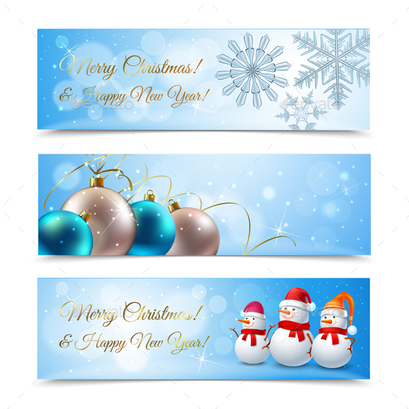 Christmas Horizontal Banners - Miscellaneous Seasons/Holidays