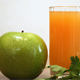 Orange Juice, Apple and Green Foods for Healthy Breakfast - VideoHive Item for Sale