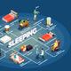 Sleeping Isometric Flowchart