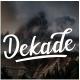 Dekade Brush Font - GraphicRiver Item for Sale