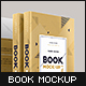 Book Mock-Up Set 1 (Hardcover) - 2018 Edition - GraphicRiver Item for Sale