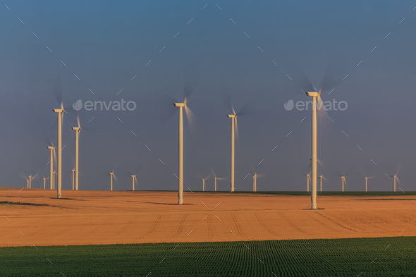 wind power turbine - Stock Photo - Images