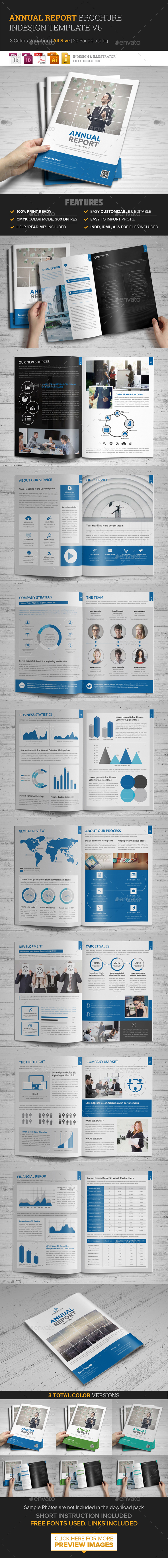 Annual Report Brochure design 6 - Corporate Brochures