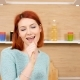 Happy and Positive Woman Sings in the Kitchen - VideoHive Item for Sale