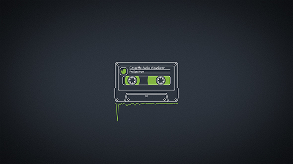 Cassette Audio Visualizer (Miscellaneous) After Effects