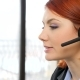 Woman Head Talking on the Headset - VideoHive Item for Sale