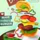 Hamburger Ad Poster