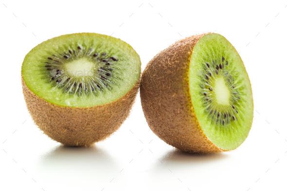 Tasty kiwi fruit. - Stock Photo - Images