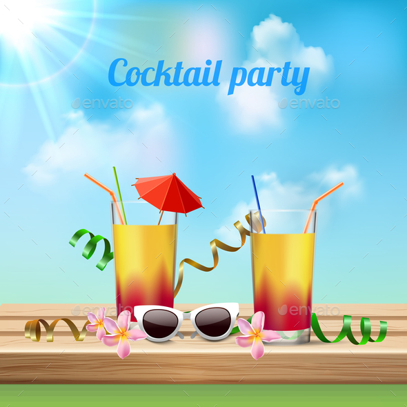 Cocktail Party Celebration - Miscellaneous Seasons/Holidays