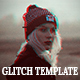Glitch Effect Photo Template - GraphicRiver Item for Sale