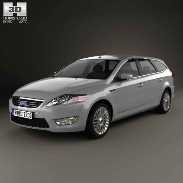 Ford Mondeo Turnier 2007 - 3DOcean Item for Sale